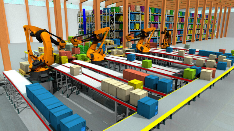 material handling system emulate3d virtual commissioning